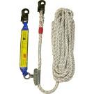 Mitlaufendes Auffanggerät mit Seilkürzer aus V2A TYP TSK 1